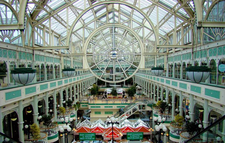 faire du shopping à Dublin