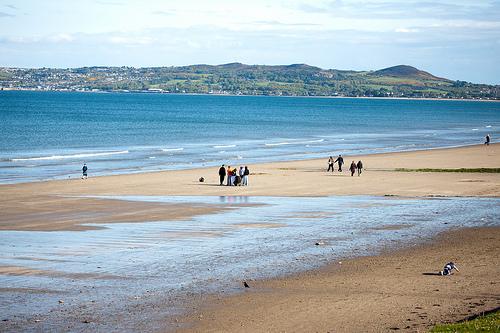 plages proches de Dublin