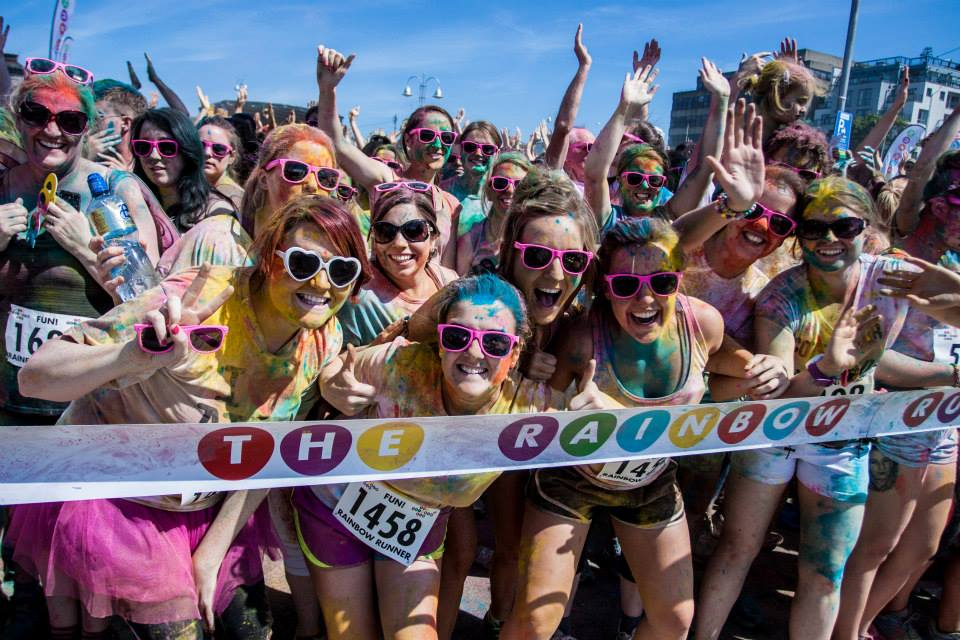 Rainbow run Dublin
