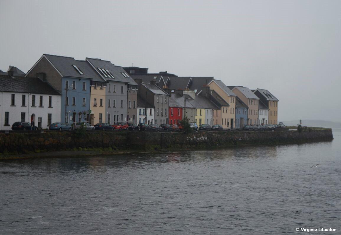 Crédit photo : Virginie Litaudon, Vue de Galway depuis le petit port