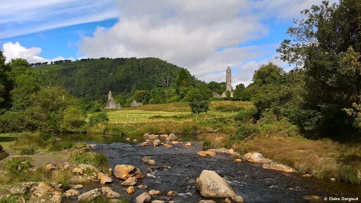Crédit photo : Claire Dargaud, La cité monastique de Glendalough