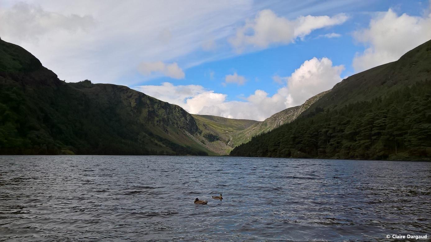 Crédit photo : Claire Dargaud, Le Lac supérieur de Glendalough