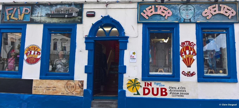 Crédit photo : Claire Dargaud Flip's abrite un reggae store à l'étage