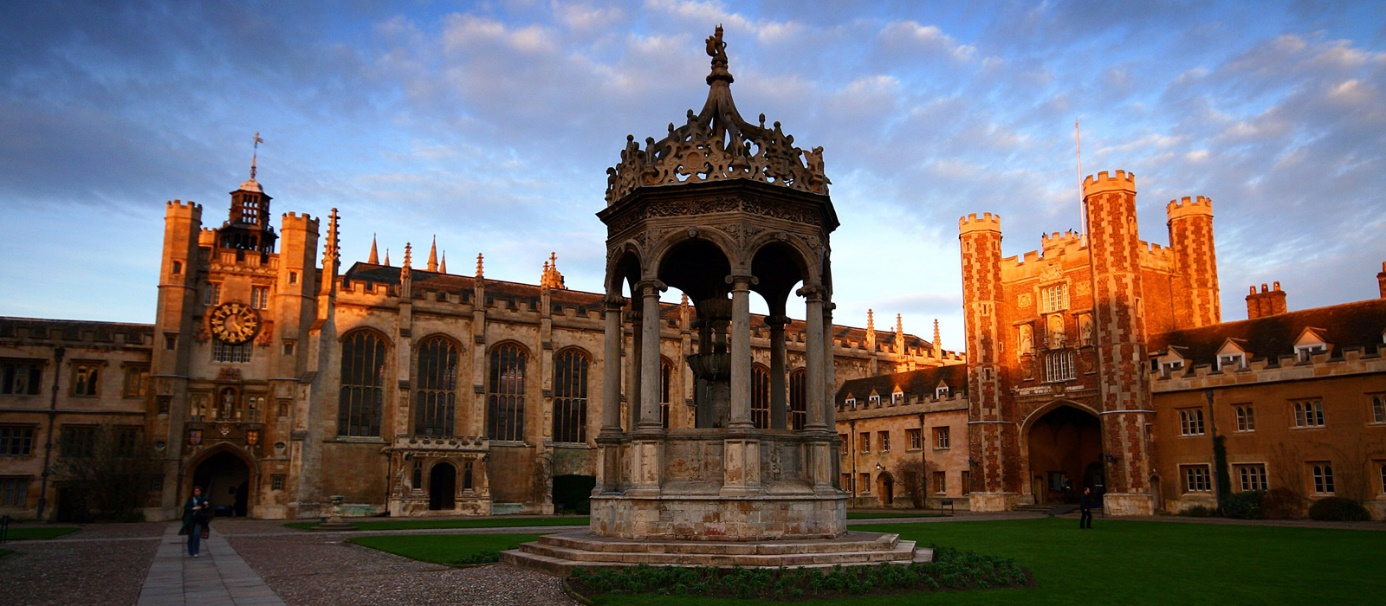 applytocambridge.com, Trinity College de Cambridge