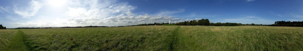View of the Papal Cross in the Phoenix Park