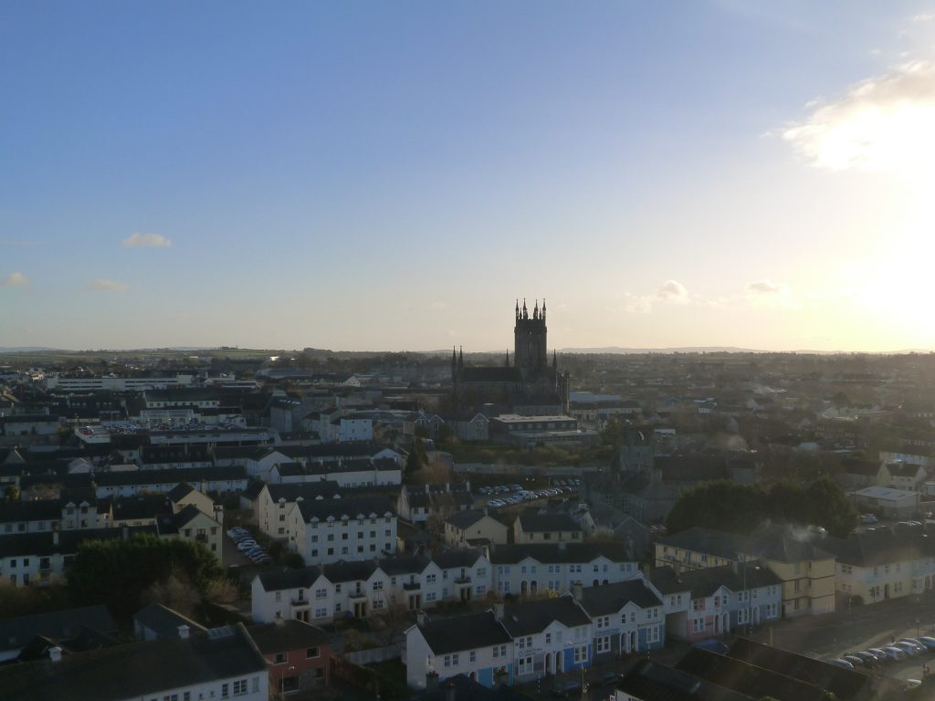 St Canice's Cathedral view